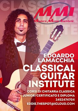 Classical Guitar Institute Eddie