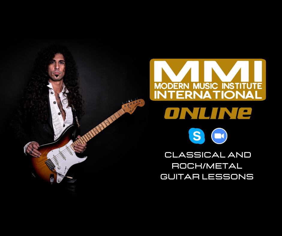 Electric Rock/Metal Guitar Online Lesson