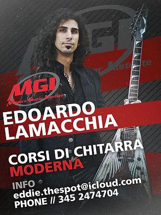 Modern Guitar Institute Eddie
