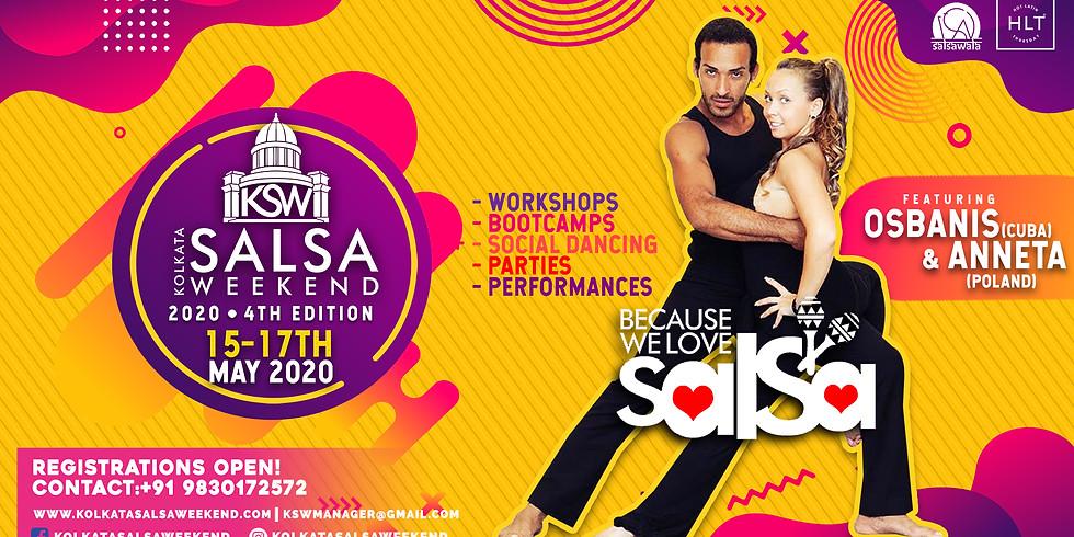 Kolkata Salsa Weekend 2020