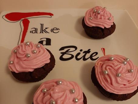Chocoladecupcakes met rode bietjes