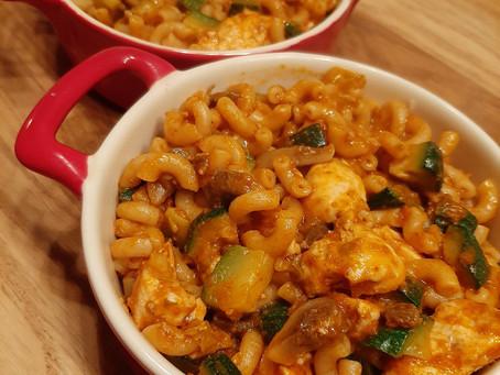 Makkelijke maaltijd: pasta pesto.
