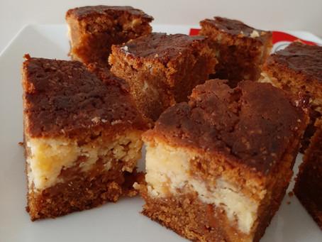 Worteltaart cheesecake.