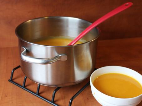 Wortel-pastinaak soep