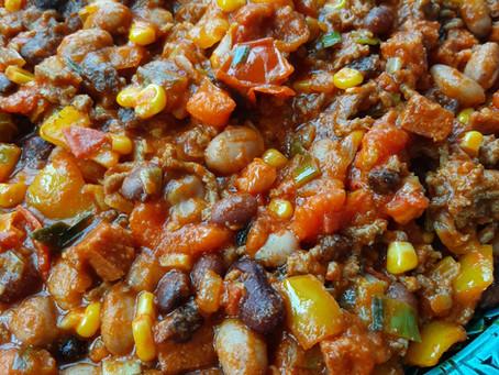 Rijkgevulde chili con carne