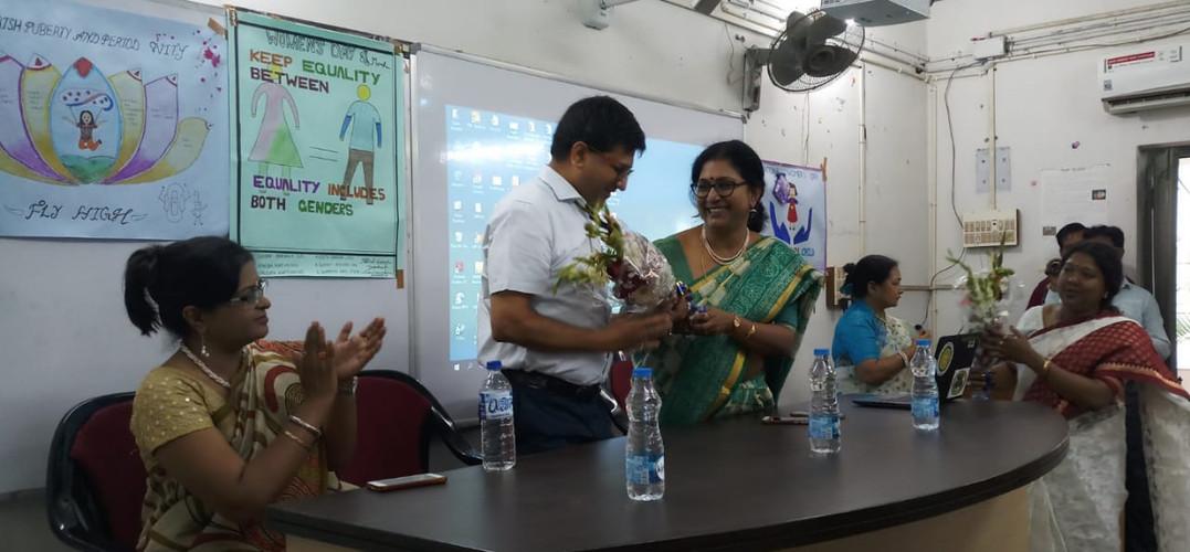 Smaran Programme of Foundar Principal Be