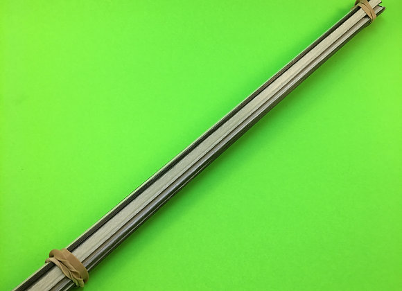 Fiberglass/Carbon Fiber Hybrid Rod