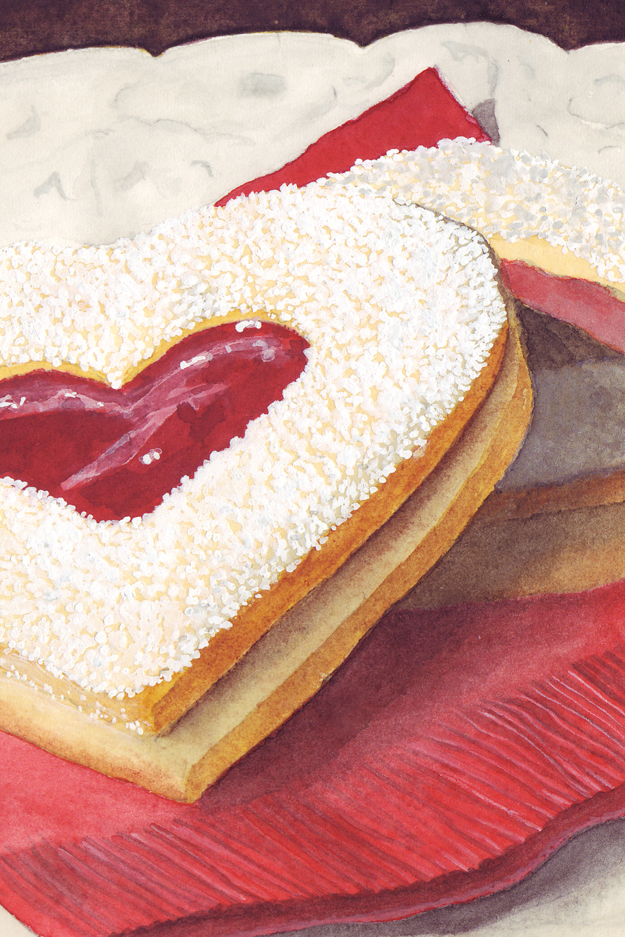 Heart Tart Cookie