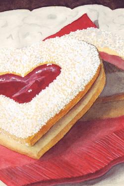 Heart Tart Cookie