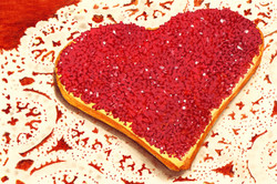 Heart Cookie and Lace