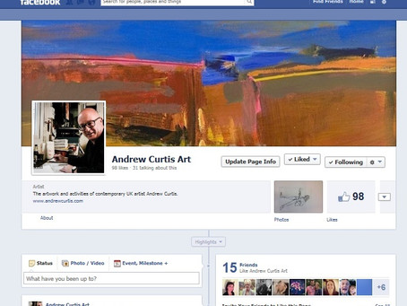 Andrew Curtis Art on Facebook