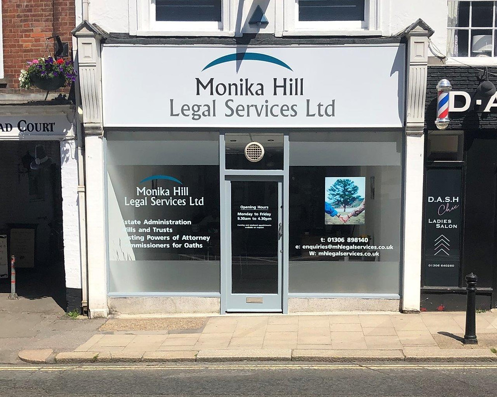 Monika Hill Legal Services Office in Dorking High Street