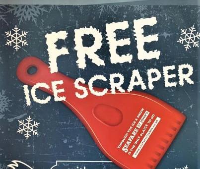Ice Scraper Giveaway