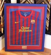 Signed Barcelona FC Shirt