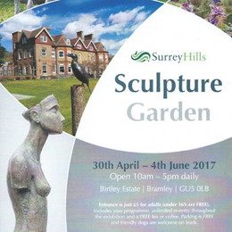 Birtley House Sculpture Trail and Exhibition 2017
