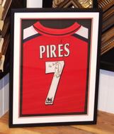 Signed Pires Football Shirt