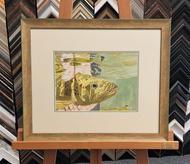 Fishy Watercolour