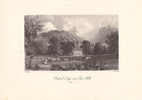 Box Hill, Burford Lodge - Surrey as it was 100 years ago