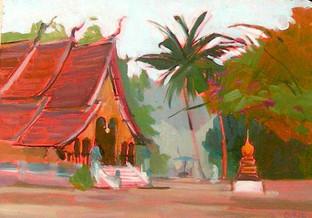Temple, Laos