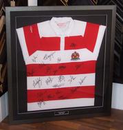 Signed Gloucester RFC Shirt