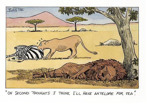 Antelope for Tea