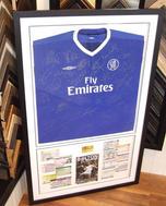 Signed Chelsea FC Shirt