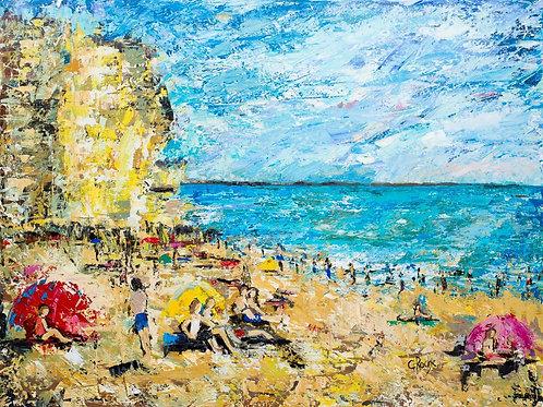 Seaside Day at Bridport