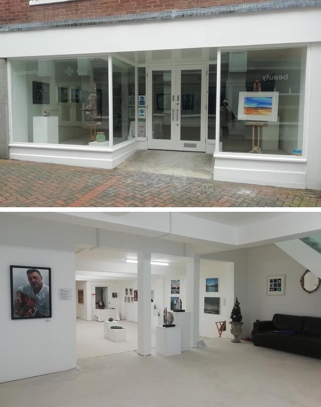 GU Art ,13 Swan Lane, Guildford.