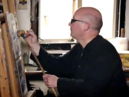 Andrew opens his studio again