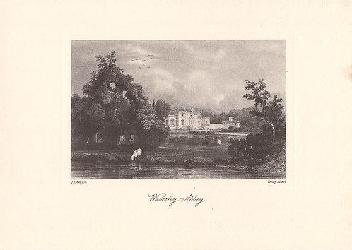 Waverley Abbey - Surrey as it was 100 years ago