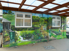 Ashley CofE Primary School Mural