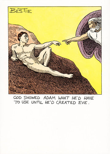 God Showed Adam