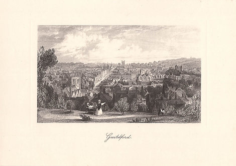 Guildford - Surrey as it was 100 years ago