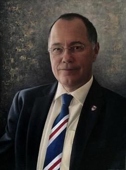 Mark E Smith, Vice-Chancellor of the University of Lancaster