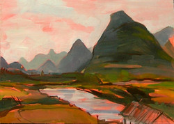 SW China Landscape