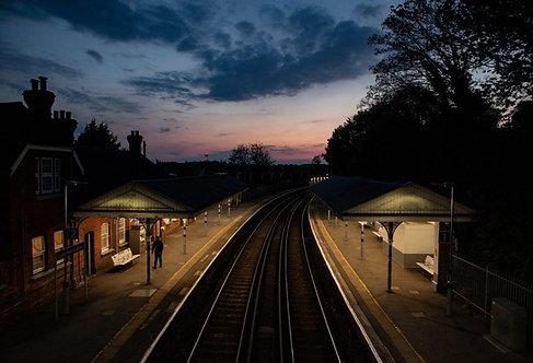 London Road Station at Dusk
