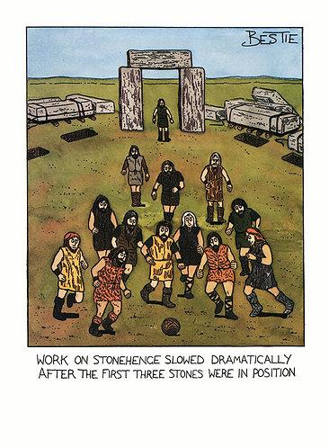 Work on Stonehenge