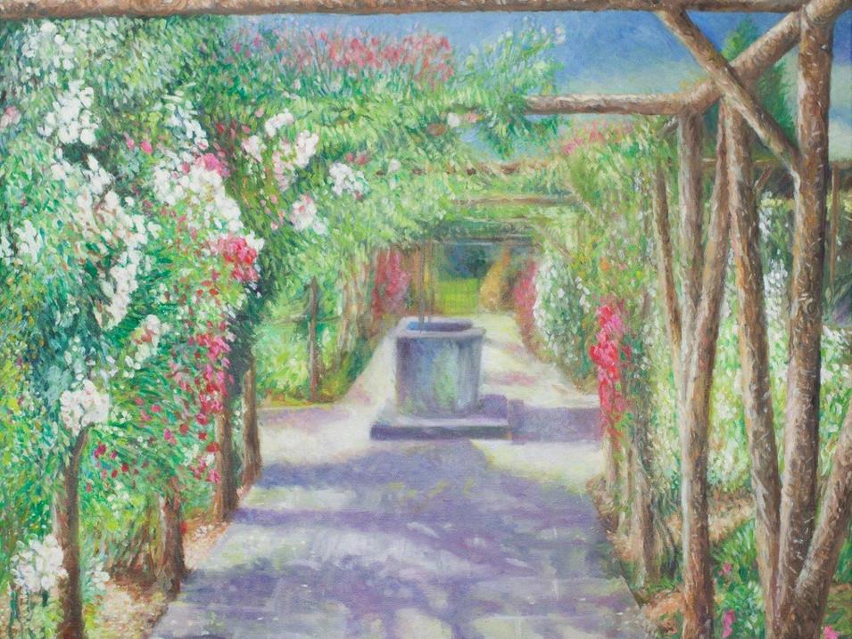 The Rose Garden at Polesdon Lacey