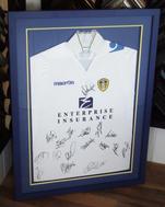 Signed Leeds United FC Shirt