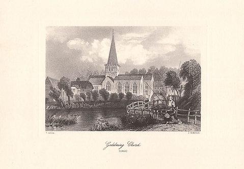 Godalming Church - Surrey as it was 100 years ago