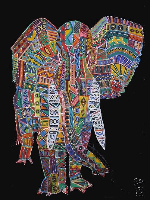 Elephant at Karen Village