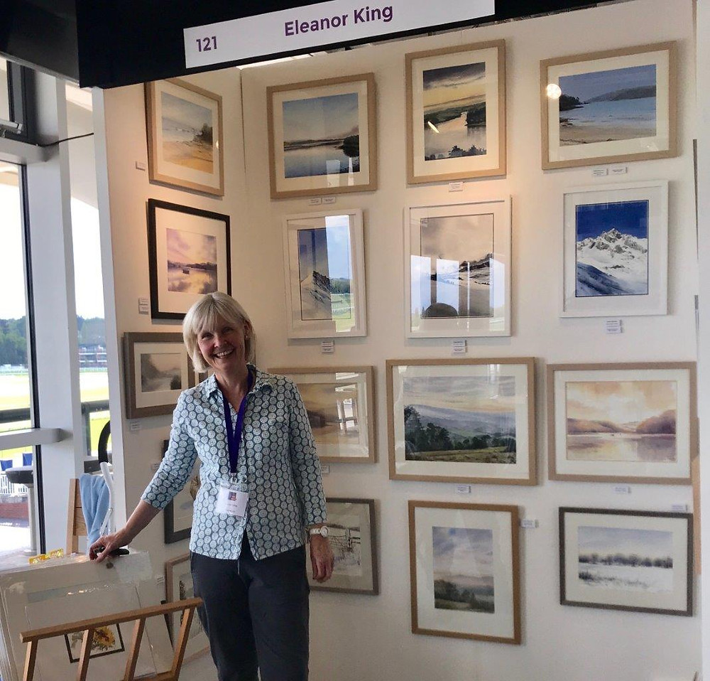 Eleanor King - Contemporary Art Fair Newbury 2019