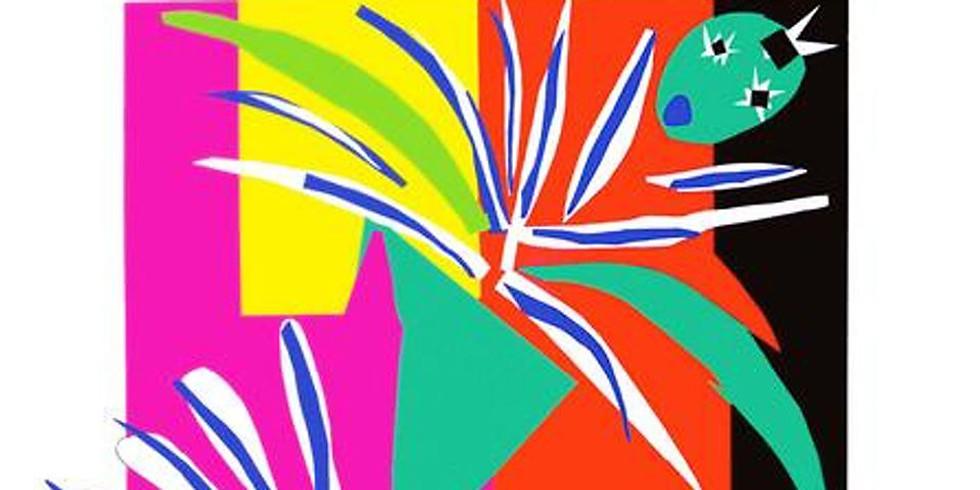 Children's Art Webinar 'Matisse' Creole Dancer