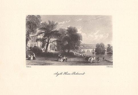 Richmond, Asgill House - Surrey as it was 100 years ago