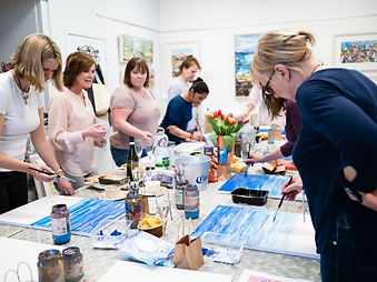 'Paint and Sip' with Grainne Roche