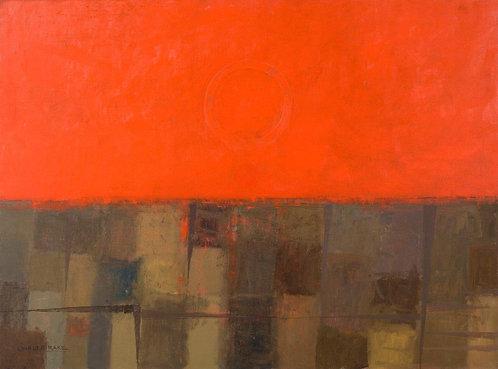 Red Sky, Red Sun, Warm Earth