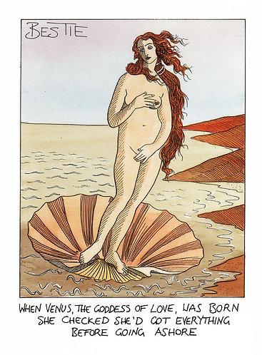 Venus Comes Ashore