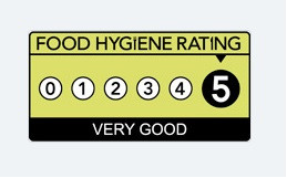 5 stars for Food Hygiene
