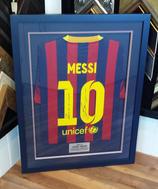 Signed Messi Football Shirt