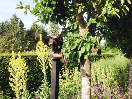 Loseley Park Sculpture Trail well under way